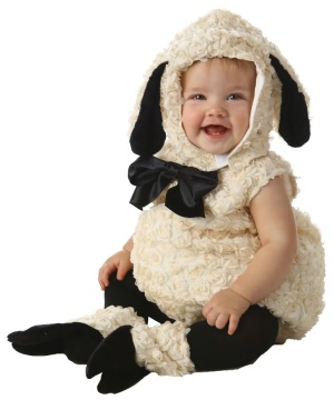 Vintage Lamb Baby/ Toddler Costume