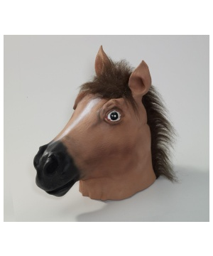 Wacky Horse Adult Unisex Latex Mask