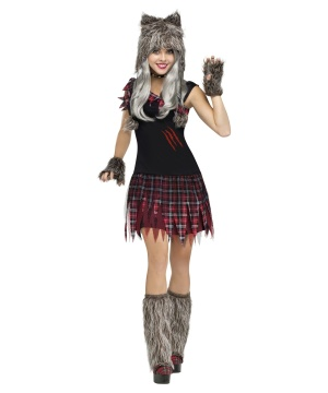 Wicked Wolfie Womens Costume