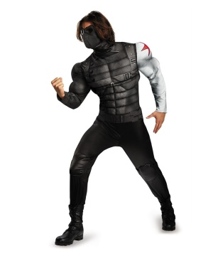 Winter Soldier Mens Muscle Costume