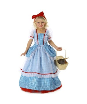 Wizard of Oz Dorothy Candy Pockets Girls Costume deluxe