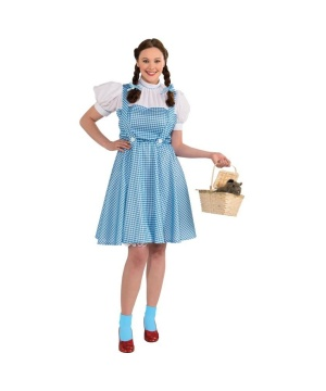 Wizard of Oz Dorothy Womens plus Costume