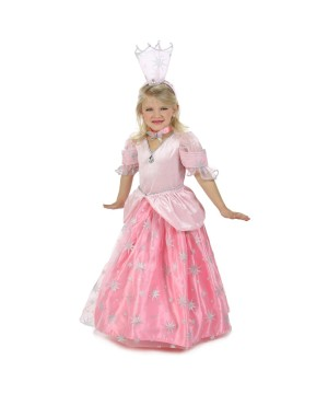 Wizard of Oz Glinda Candy Pockets Girls Costume deluxe