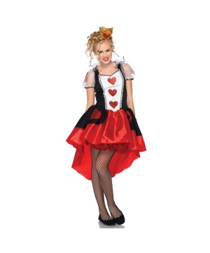 Wonderland Queen Teen Costume