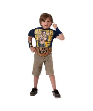 Wwe John Cena Muscle Shirt Boys Costume deluxe