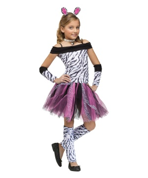 Zebra Girls Costume
