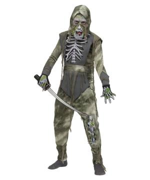 Zombie Boys Ninja Costume