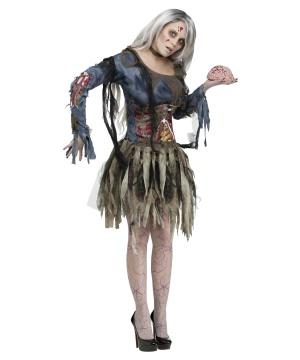 Zombie Womens Costume