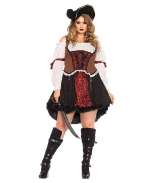 7 Seas Beauty plus size Womens Pirate Costume