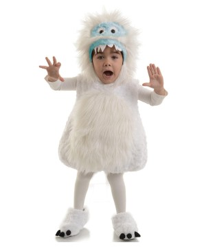 Abominable Snow Monster Toddler Costume