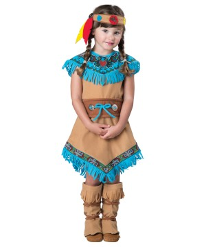 Adorable Indian Toddler Girls Costume