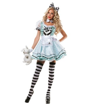 Trippy Alice Womens Costume