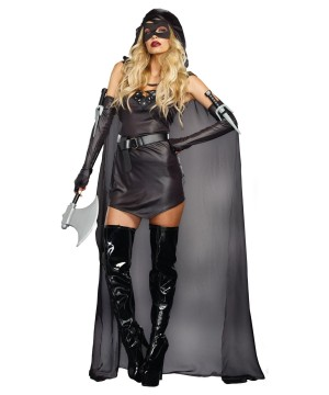 Dark Villainous Assassin Womens Costume