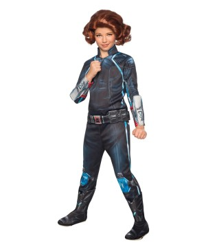 Avengers 2 Black Widow Girls Costume deluxe