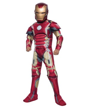 Avengers 2 Iron Man Mark 43 Boys Costume deluxe