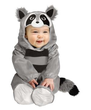 Baby Boy Raccoon Costume