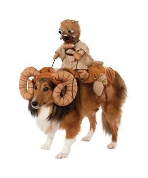 Stars Wars Dog Bantha Rider Costume
