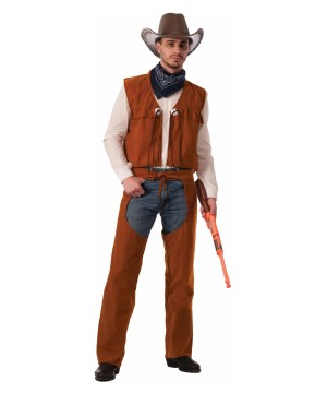 Best in the West Mens Cowboy Costume