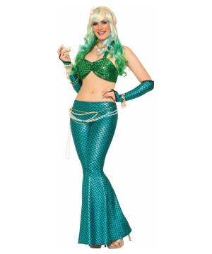 Blue Mermaid Women Leggings