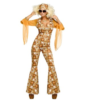 Boogie Disco Diva Womens Costume