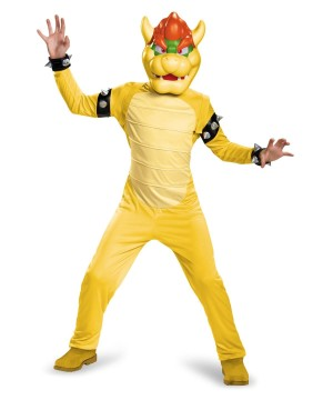 Super Mario Bros Bowser Boys Costume