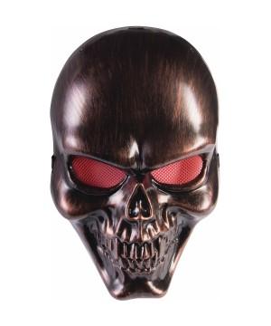 Bronze Skull Mens Mask
