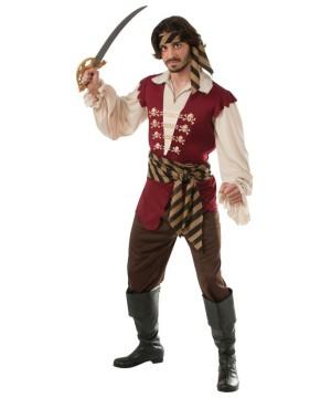 Buccaneer Pirate Raider Mens Costume