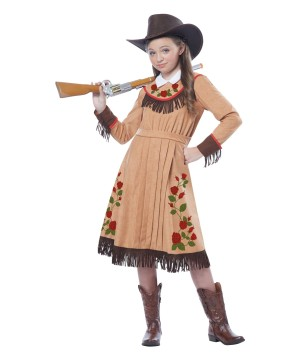 Celebrity Cowgirl Annie Oakley Girls Costume