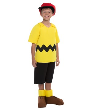 Peanuts Charlie Brown Boys Costume deluxe