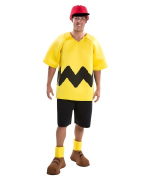 Peanuts Charlie Brown Mens Costume deluxe