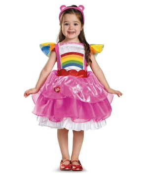 Cheer Care Bear Tutu Girls Costume