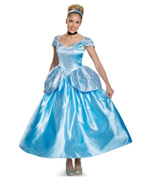 Disney Princess Cinderella Womens Costume Prestige
