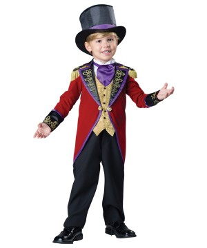 Circus Ringmaster Toddler Boys Costume