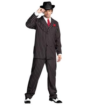 Classic Mobster Gangsta Men Costume