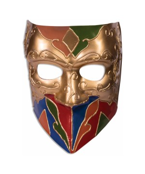 Classic Jester Mens Mask