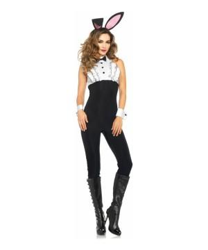 Classy Bunny Tuxedo Womens Costume