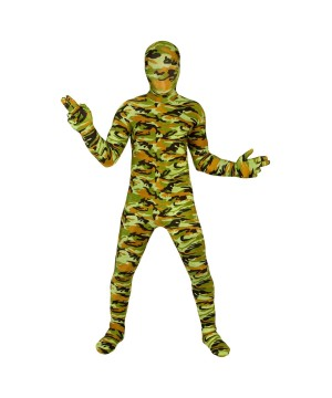 Commando Morphsuit Kids Costume