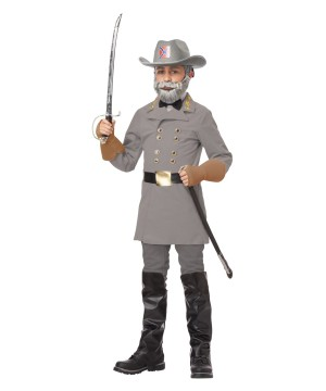Confederate General Robert E. Lee Boys Costume