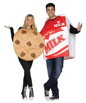 Cookie and Milk Couples Costume