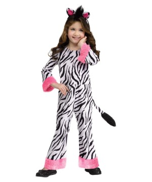 Cool Stripes Zebra Toddler Costume