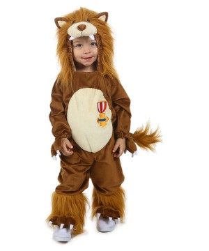 The Wizard of Oz Cowardly Lion Baby Costume