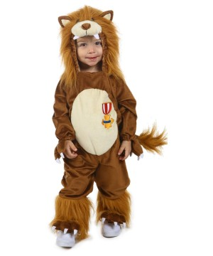 The Wizard of Oz Cowardly Lion Boys Costume