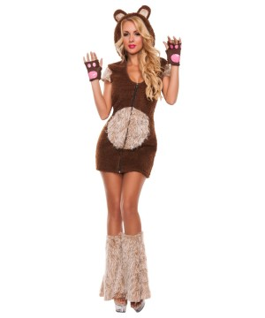 Cuddle Me Bear Womens Costume deluxe