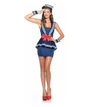 Cute Salute Womens Sailor Costume