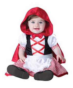 Cutest Red Riding Hood Baby Costume