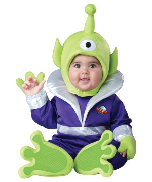 Cyclops Martian Baby Alien Costume
