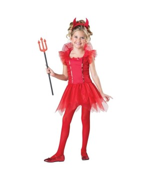 Dazzling Devil Girls Costume