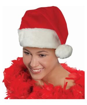 Deluxe Promo Santa Hat