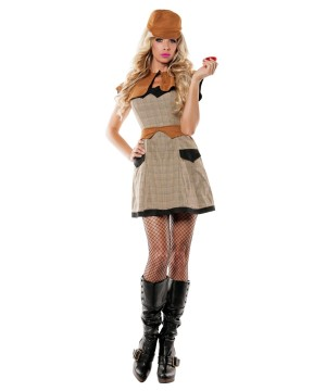Sultry Detective Womens Costume deluxe