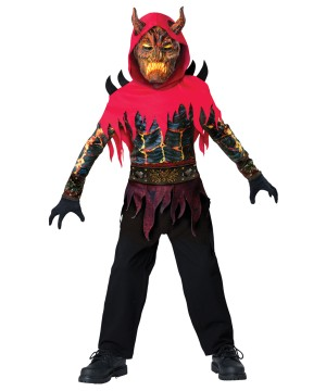 Devil Demon Dark Prince Boys Costume
